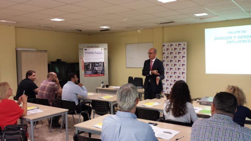 """El Centro de Empresas de Manzanares acogió el taller """"Dirigir y vender por influencia"""""""