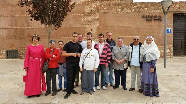 El Centro Ocupacional de Manzanares participa en las visitas medievales