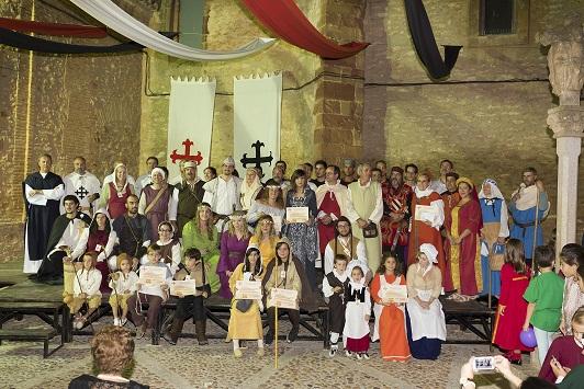 Los oficios de la época se imponen en el concurso de indumentaria medieval de Manzanares
