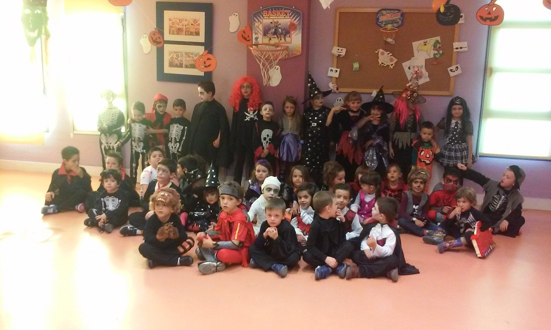 La ludoteca de Manzanares celebró la fiesta de Halloween