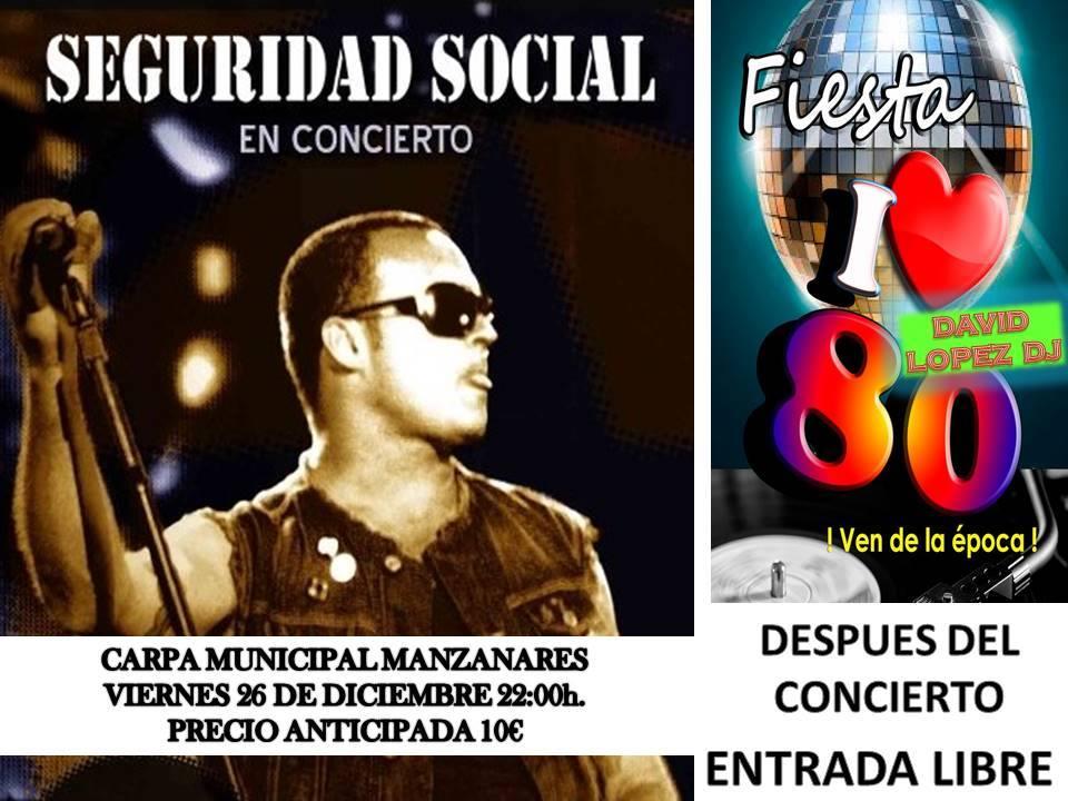 """""""Seguridad Social"""" actuará esta Navidad en la carpa municipal de Manzanares"""