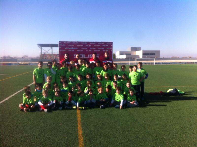 3ª edición del Campus de fútbol Membrilla 2014