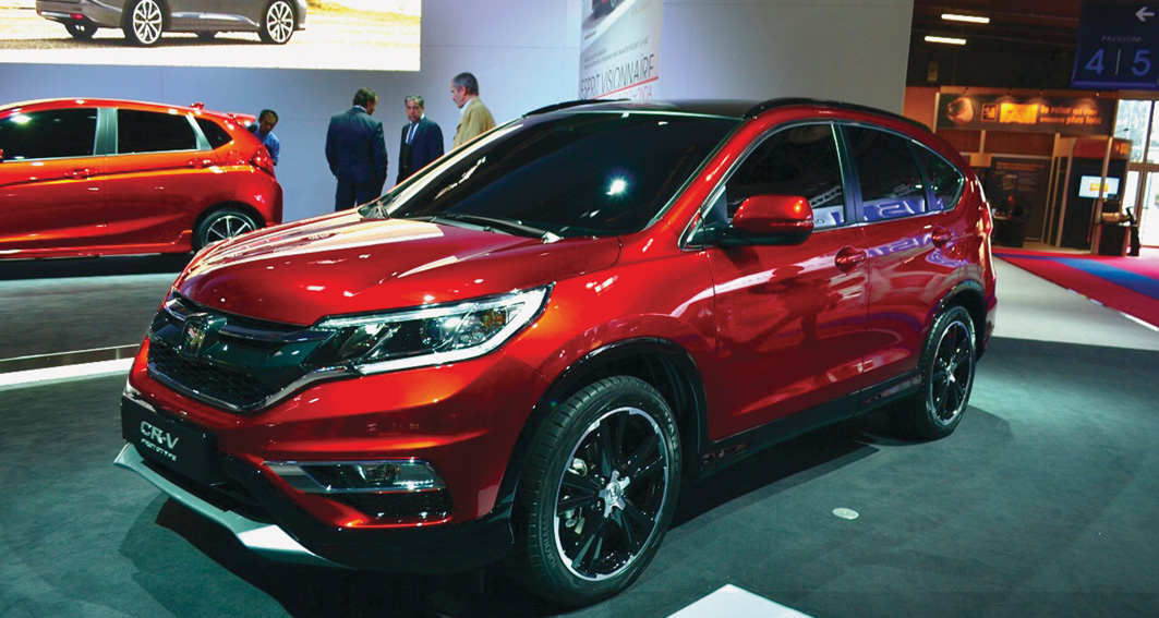 Honda CR-V 2015. Cambios estéticos y nuevos motores