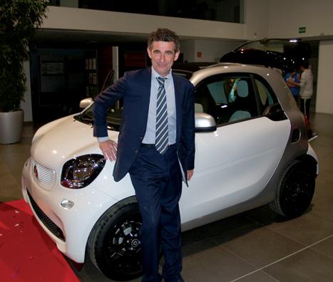 Autotrak presentó los nuevos Smart Fortwo y Forfour