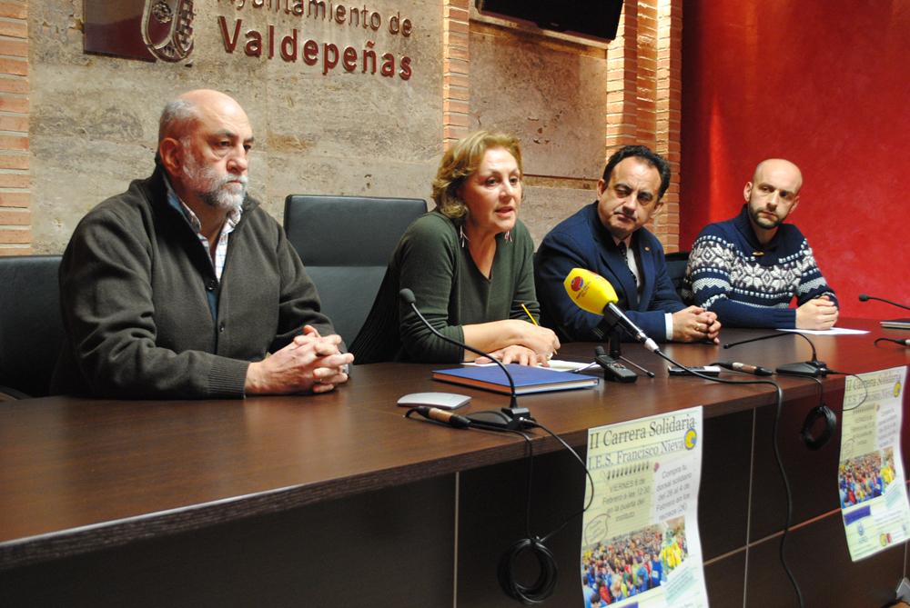 Los estudiantes de Valdepeñas correrán a beneficio de AFAD