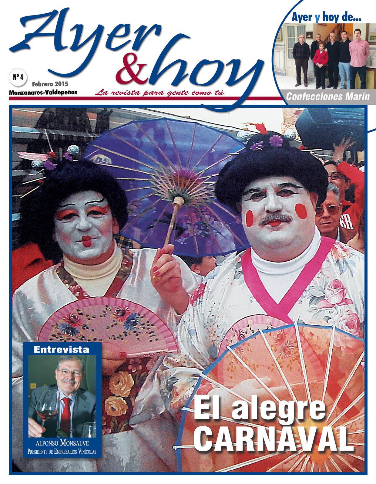 Revista de Febrero 2015 – Manzanares-Valdepeñas
