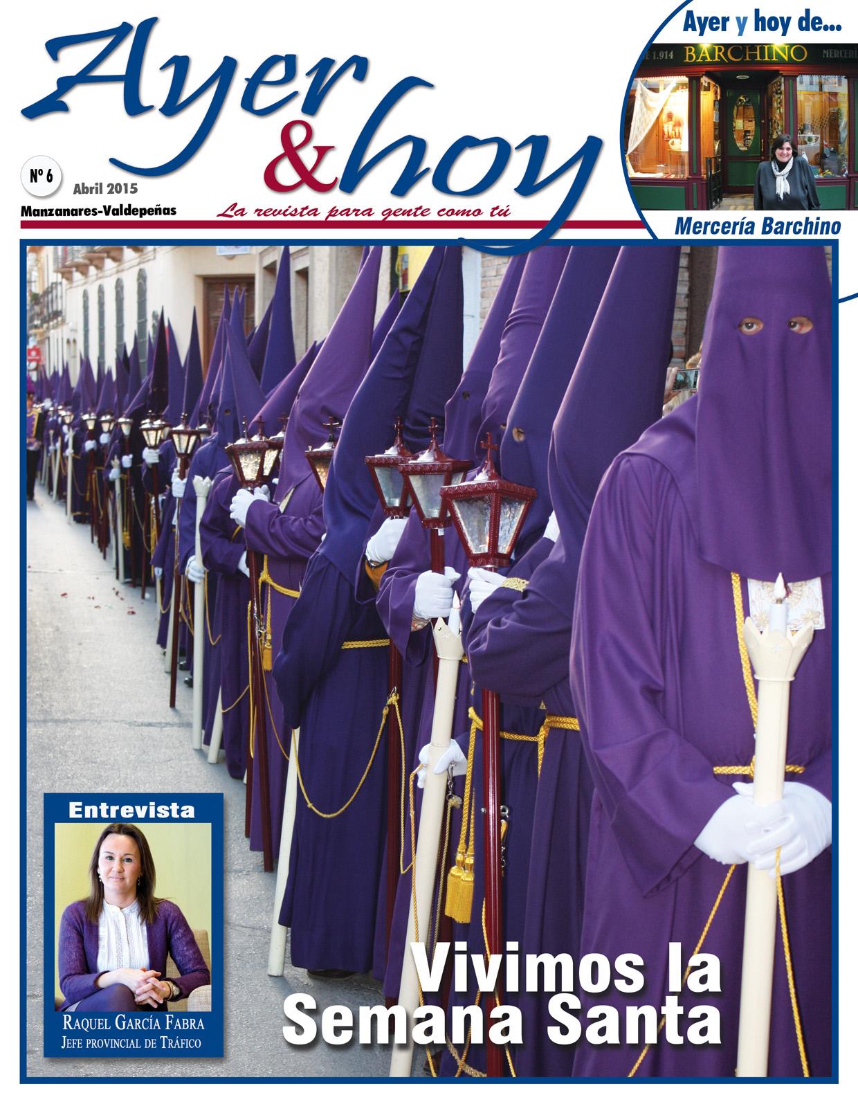 Revista de Abril 2015 – Manzanares-Valdepeñas