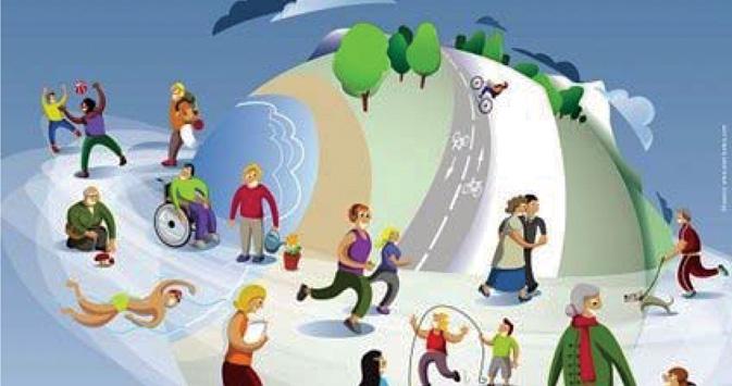 Camina hacia tu salud Nutrición deportiva