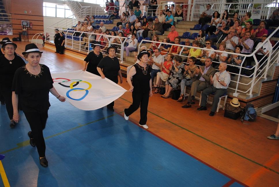 Jesús Martín inauguró las XXI Olimpiadas Sénior en Valdepeñas