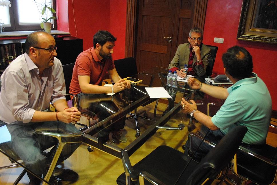 Jesús Martín se reúne con todos los candidatos electos con representación municipal