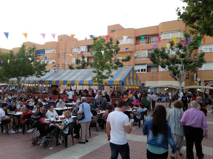 Alta participación y gran ambiente en las fiestas del Nuevo Manzanares