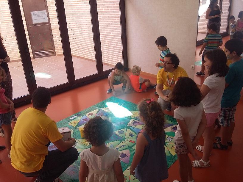 Aprenden a reciclar jugando