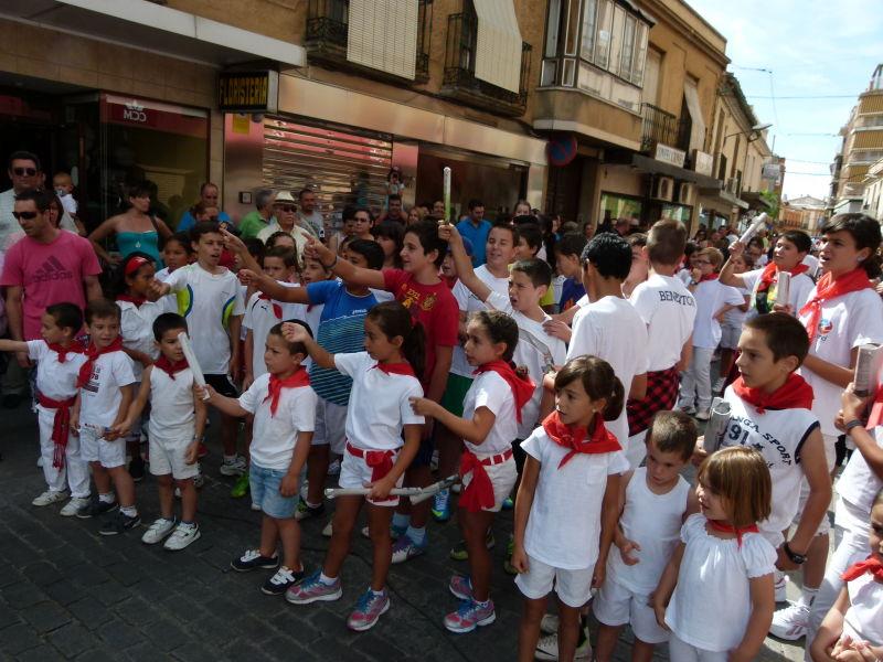 Dianas y encierro infantil abren el sábado de feria