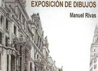 Exposición de dibujos de Manuel Rivas en el espacio de artistas locales del Museo de Arte Contemporáneo