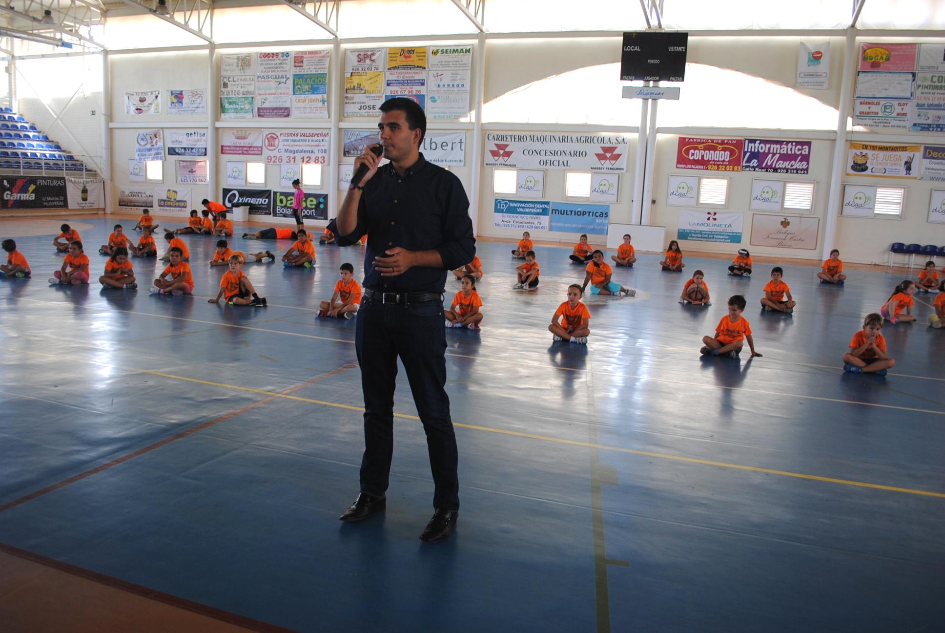 Más de 600 jóvenes pasaron este verano por el Campus Polideportivo de Valdepeñas