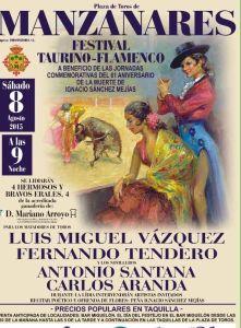 Festival Taurino-Flamenco en el 81 aniversario de la muerte de Ignacio Sánchez-Mejías