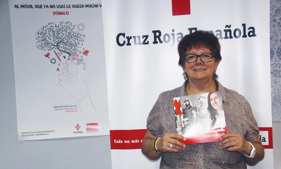 Mª Dolores Moreno Gómez. Presidenta Provincial de Cruz Roja