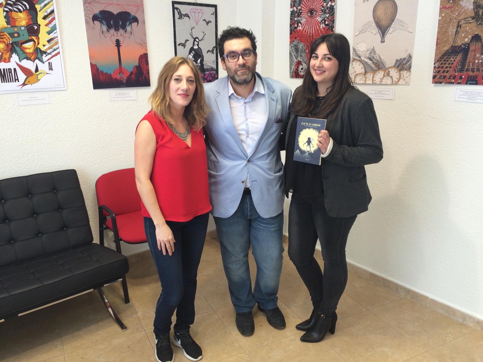 Inauguración de exposición y presentación de un libro en León Domínguez & Asociados