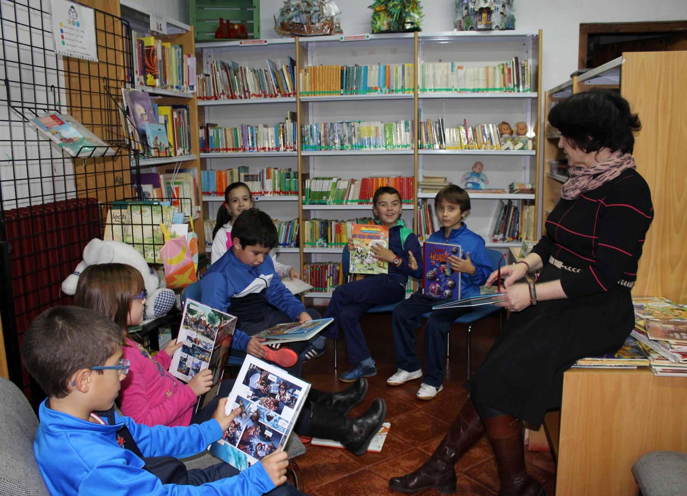 Comienzo de los talleres de animación a la lectura en Villanueva de los Infantes