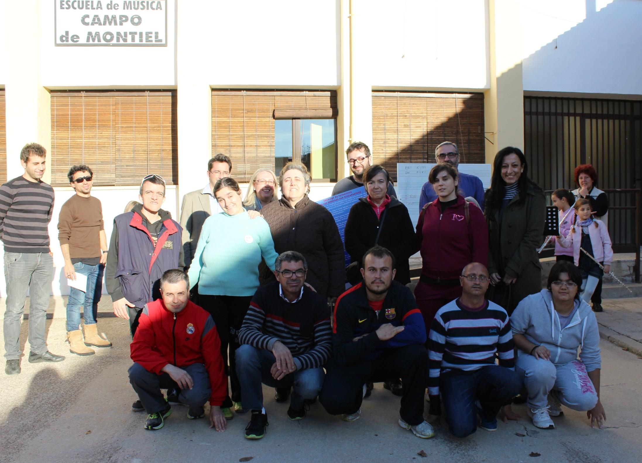 Laborvalía reconoce a la Escuela de Música Campo de Montiel por su apoyo a las personas con discapacidad