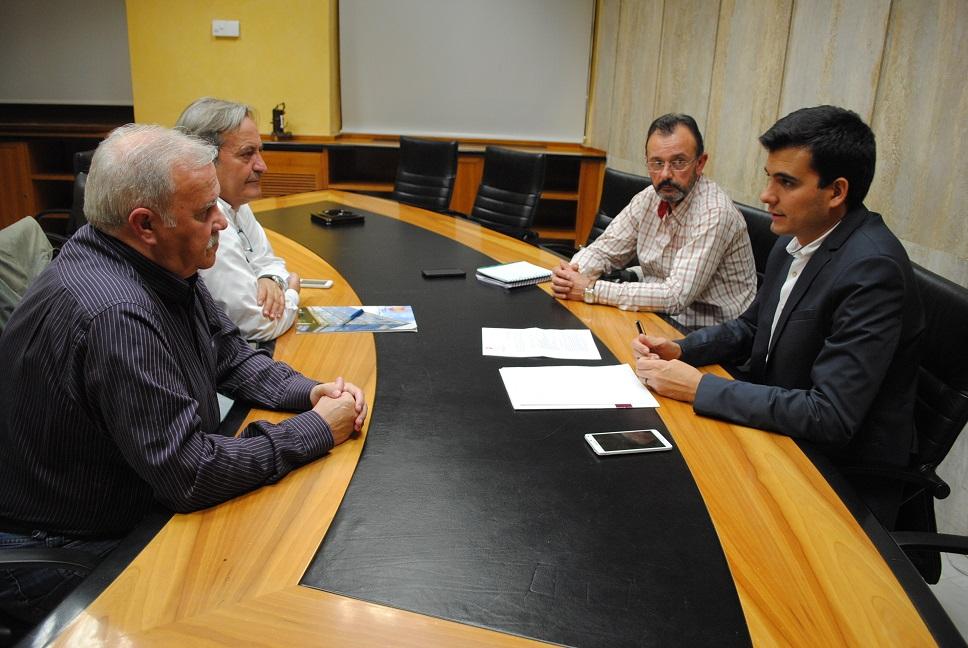 Valdepeñas y la FFCM planifican la organización de eventos regionales y nacionales para el próximo año