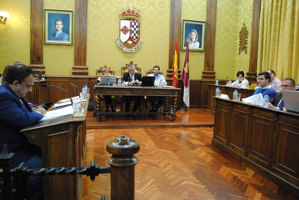 """Jesús Martín destaca el """"esfuerzo inversor y la creación de empleo"""" del presupuesto municipal de 2016"""