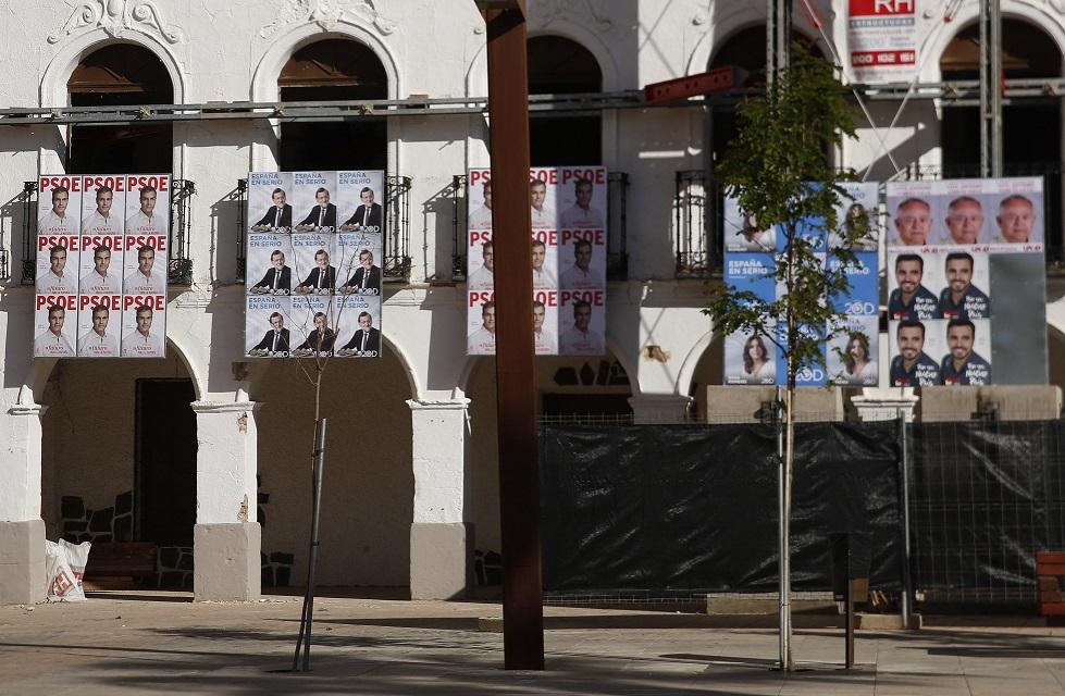 Los ediles de la Corporación participan en el comienzo de la campaña electoral