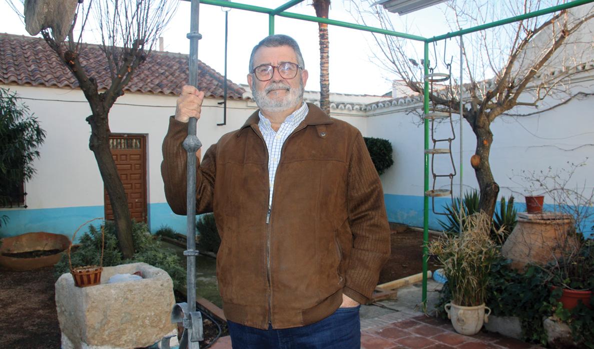 Antonio Vallejo. Profesor de Música y experto del carnaval