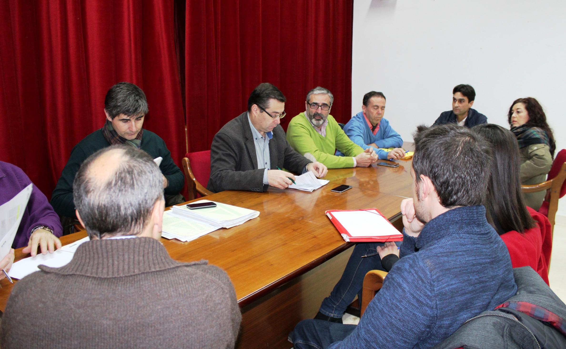 El Director General de Desarrollo Rural se reúne con el grupo de Acción Local Tierras de Libertad