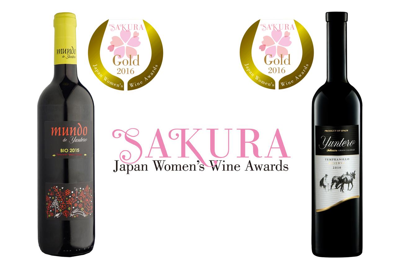 Bodegas Yuntero premiada con doble medalla de oro en Japón