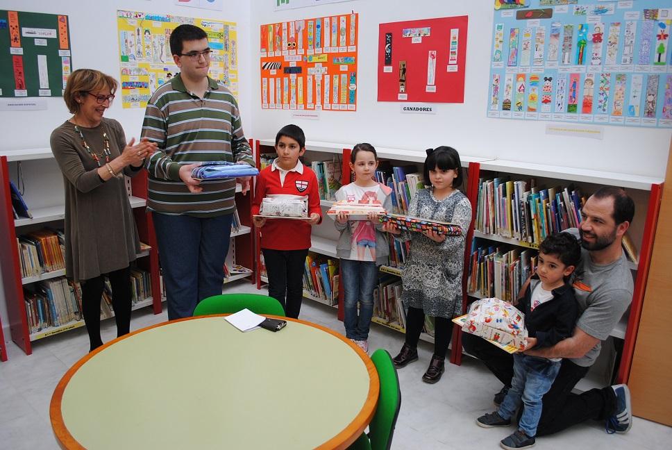 Entregados los premios del 'XVII Concurso de Marcapáginas' en Valdepeñas