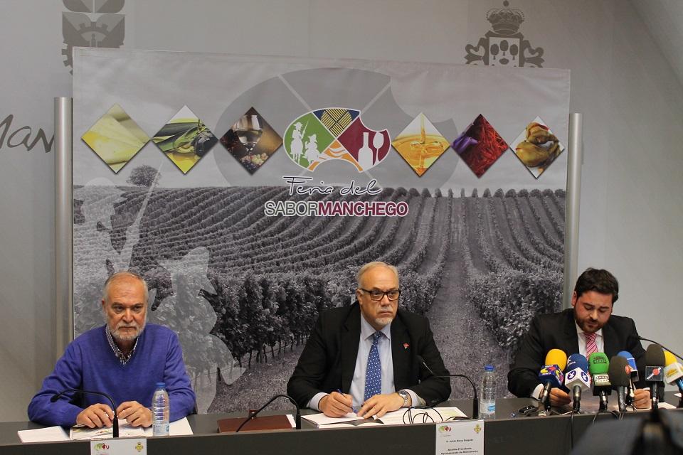 Un total de 44 expositores de productos agroalimentarios de CLM se darán cita en la I Edición de la Feria del Sabor Manchego de Manzanares