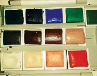 """Materiales: """" Tipos de pintura """""""
