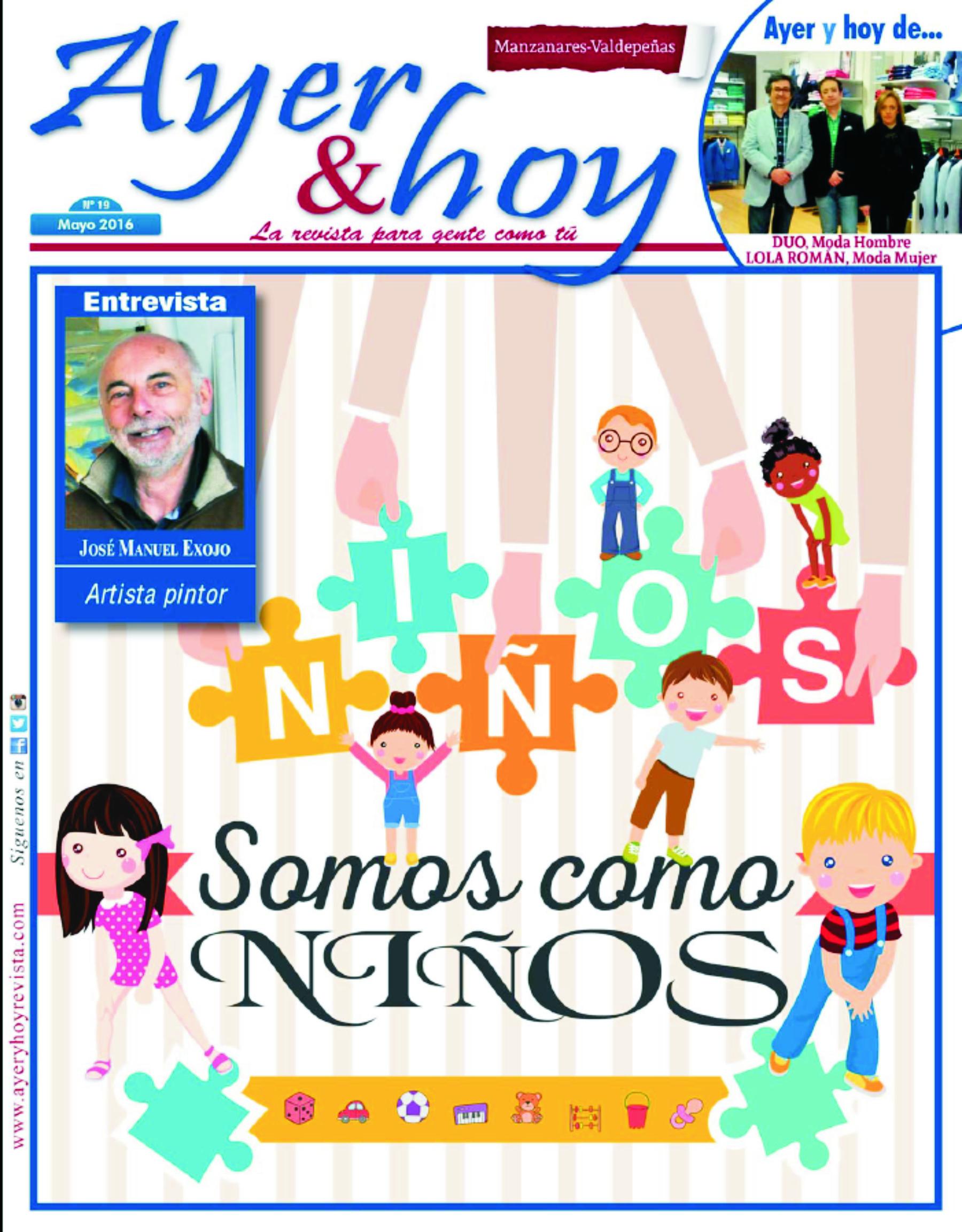 Revista de Mayo 2016 – Manzanares – Valdepeñas