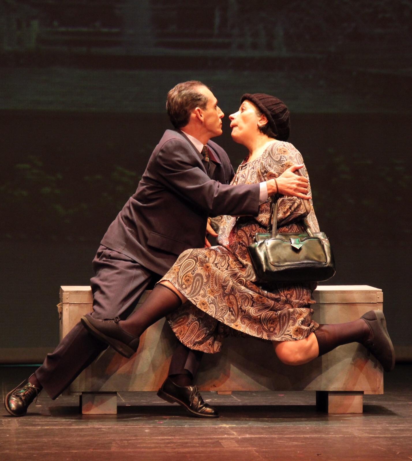 El Trascacho llena de risas el Auditorio de La Encarnación con 'Vaya par de gemelas'