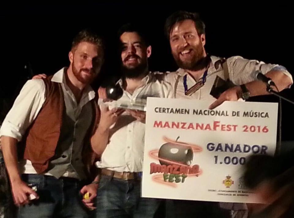"""El Grupo """"Young Forest"""" se alzó con el primer premio en el Festival ManzanaFest 2016"""