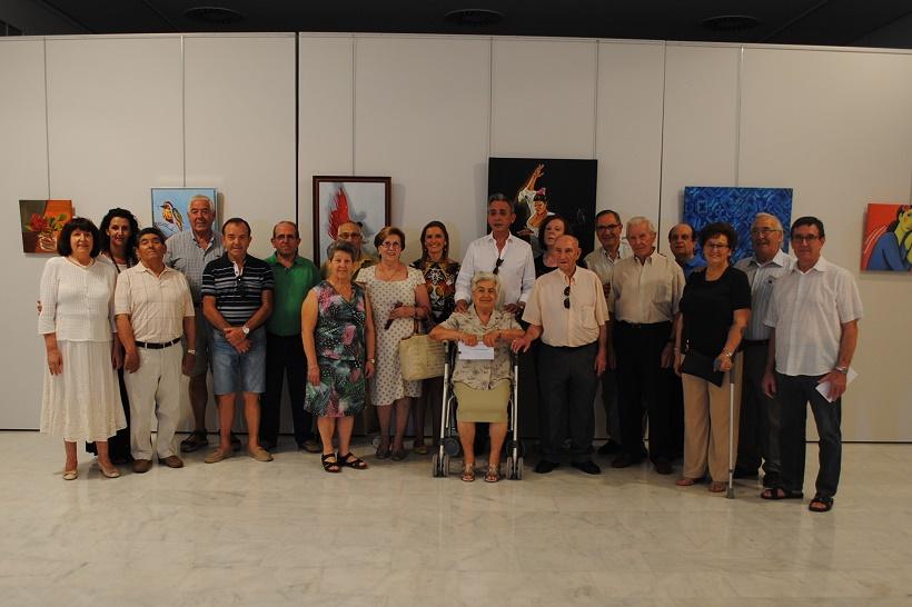 Jesús Martín clausuró la XXXV Exposición de Artesanía del Centro de Mayores