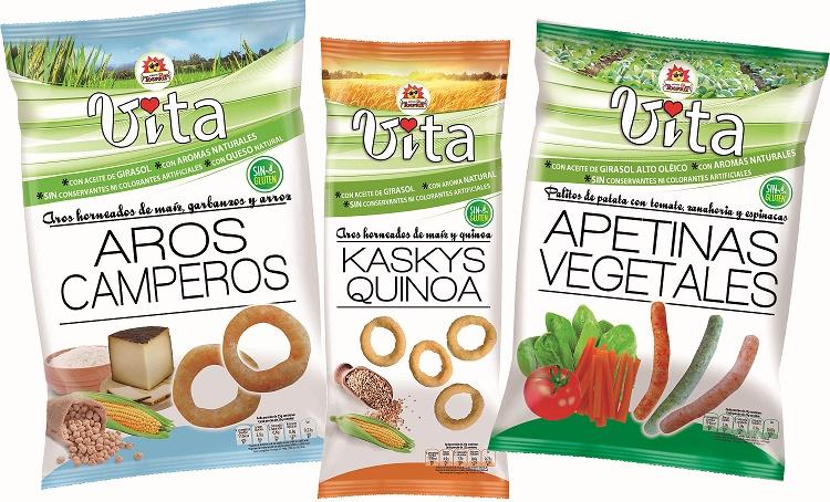 TOSFRIT lanza 'Vita', la nueva línea de snacks para el consumidor que cuida su salud sin renunciar al sabor
