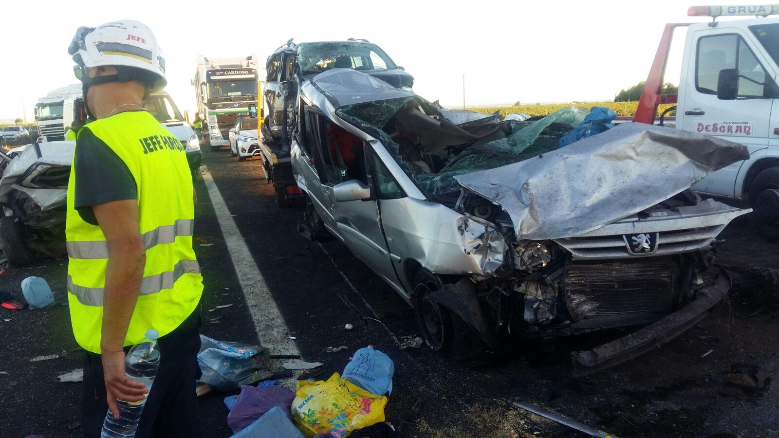 El Ayuntamiento de Manzanares atendió a familias afectadas por el accidente múltiple de la A-4
