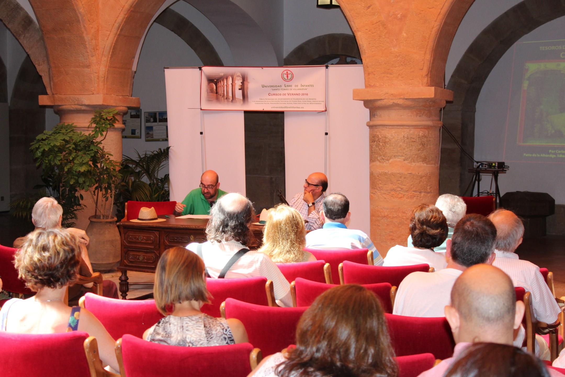 Los cursos de la Universidad Libre de Infantes ponen en valor los Tesoros del Campo de Montiel