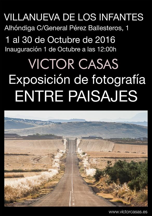 Víctor Casas expone en Infantes 'Entre Paisajes' del 1 al 30 de octubre