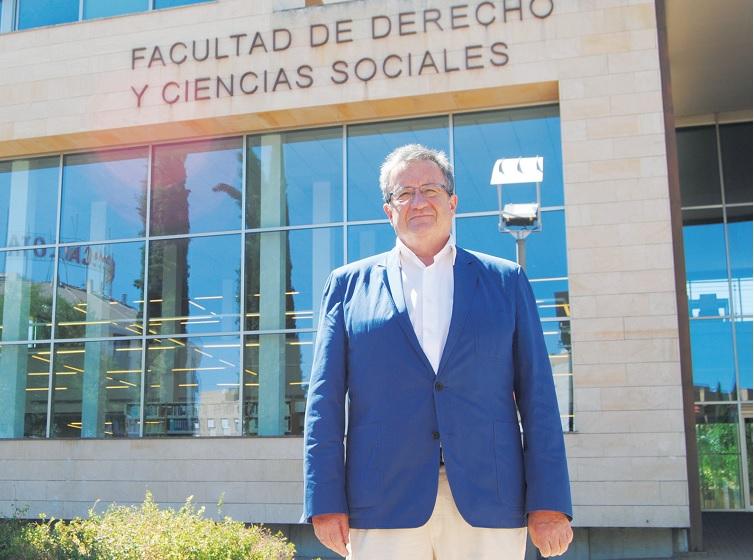 Juan José Rubio. Decano de la Facultad de Derecho de Ciudad Real