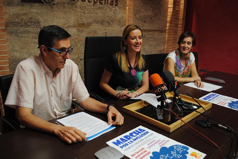 La 'I Marcha por la Inclusión' se celebrará el miércoles 5 de octubre en Valdepeñas