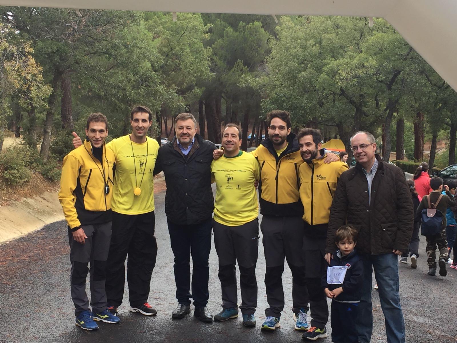 Cerca de 300 profesionales de Geacam participan en un 'trail' solidario de 10 kilómetros en Viso del Marqués