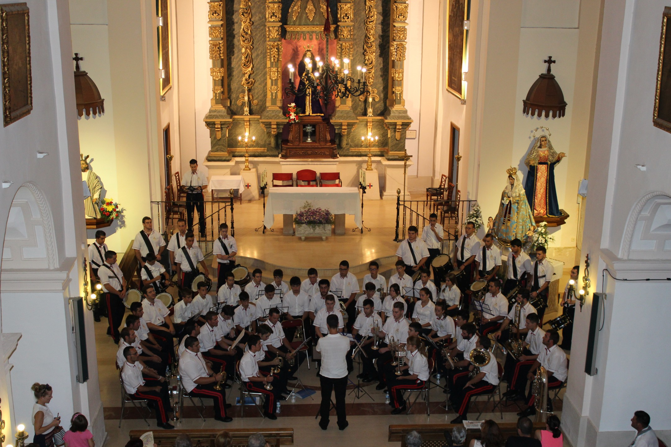 La Banda de CC.TT Nuestro Padre Jesús Rescatado celebrará en Villanueva de los Infantes un concierto didáctico en honor a Santa Cecilia