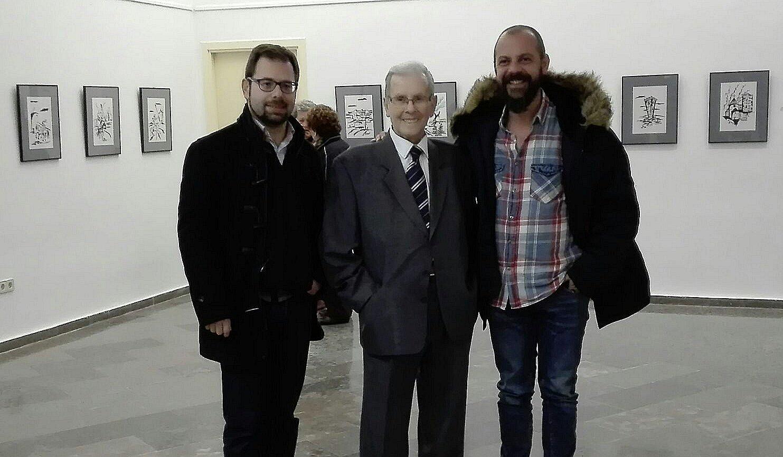 El museo de Manzanares acoge una exposición de dibujos del alcazareño Recesvinto Casero