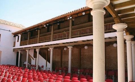 Patio de Comedias de Torralba de Calatrava, uno de los grandes focos culturales de la provincia