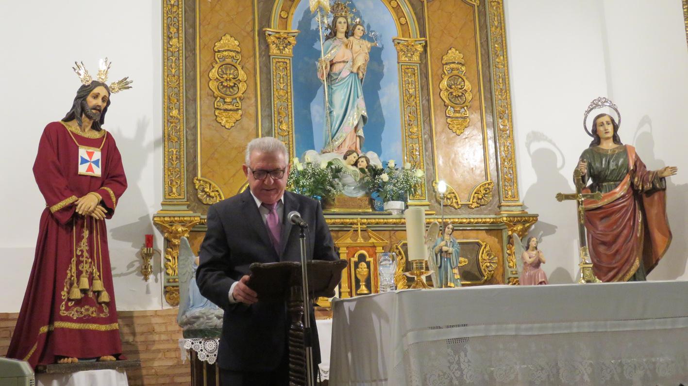 """El pregonero de las Fiestas """"Virgen de la Paz"""", aboga por potenciar las fiestas locales"""