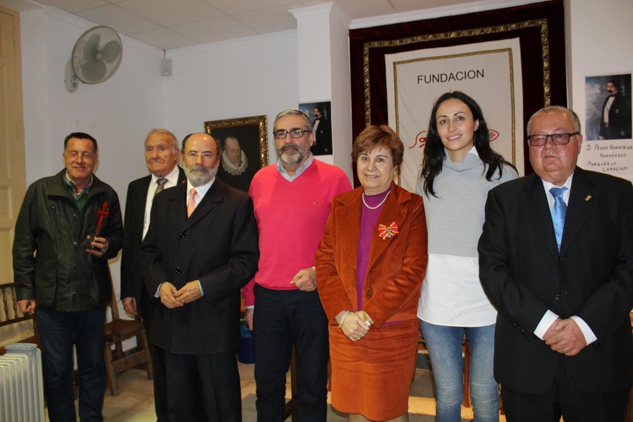 Gertrudis Pagán habló sobre la relación del Marqués de Camacho y Casa Tilly con Villanueva de los Infantes