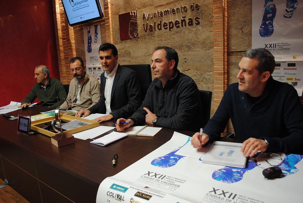 La XXII Media Maratón y 10Km. de Valdepeñas espera recibir a más de 1.500 atletas